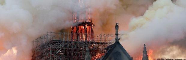 Brand notre dame Parijs - - Beveiliging culureel erfgoed